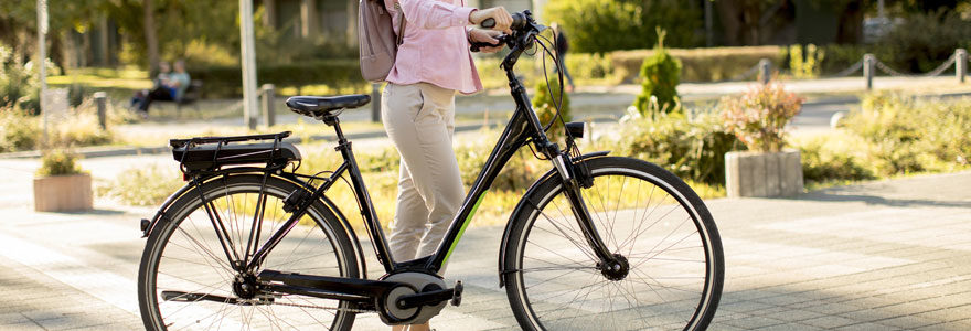 modèle de vélo électrique